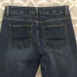 Route 66 slim boot jeans size 3/4